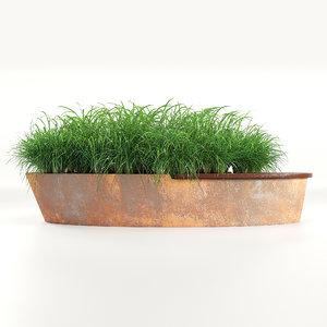3D planterworx dune 1 model