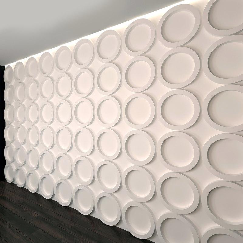 wall panel set 1 model