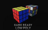 3D ready pbr solved model
