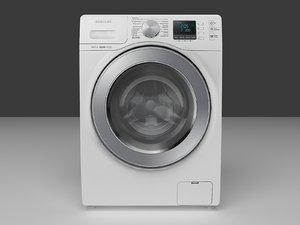 3D washing machine samsung wd806