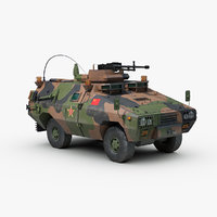 zfb05 xinxing vehicle 3d model