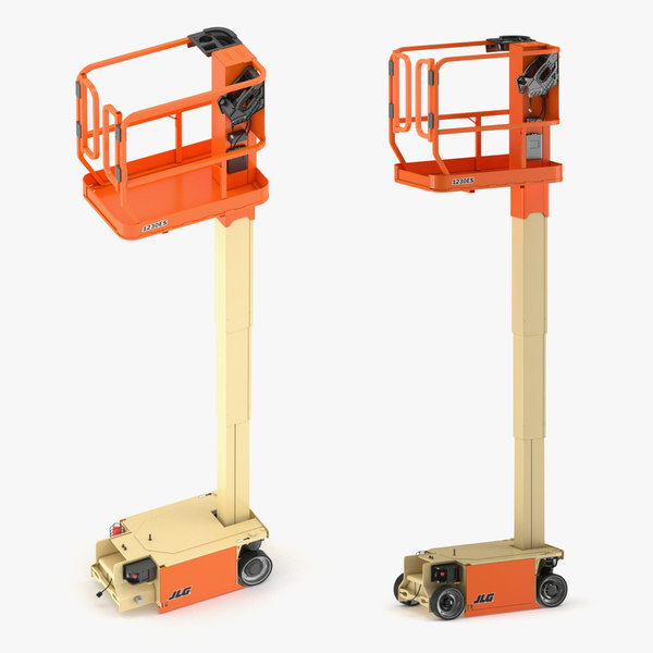 jlg lift vertical 3D model