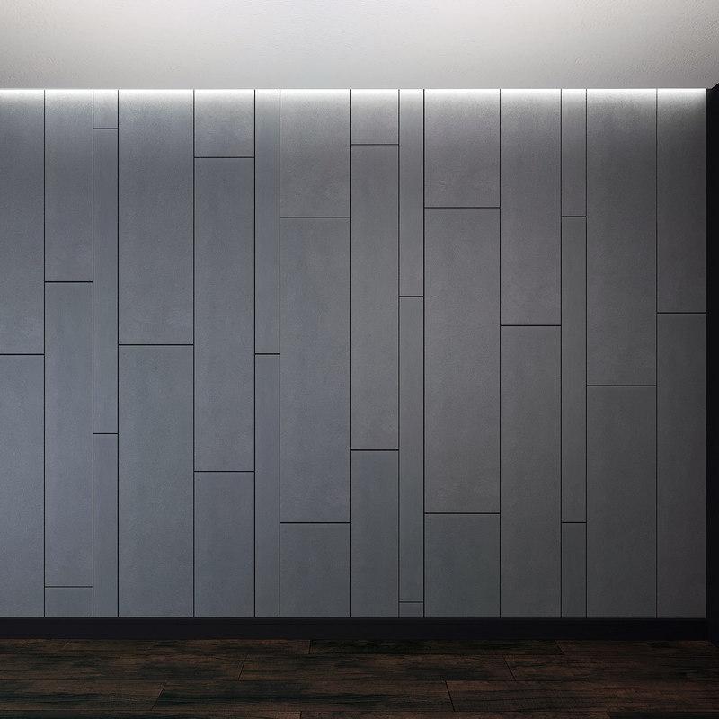 wall panel set 4 model