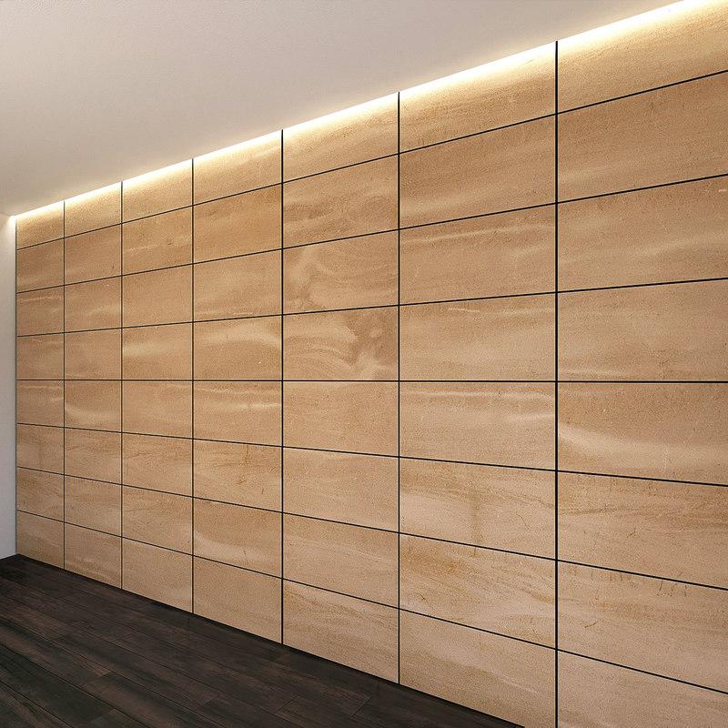 3D wall panel set 2