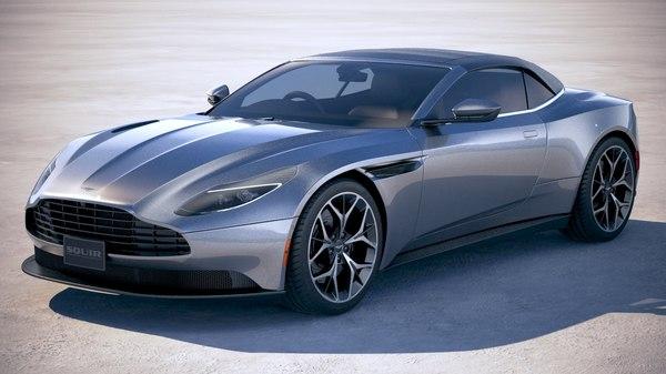 Aston Martin Db11 Volante 2019 3d Modell Turbosquid 1377254
