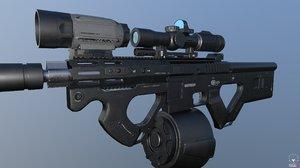 custom ar15 ready 3D