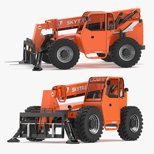 jlg rs telehandlers 3D model