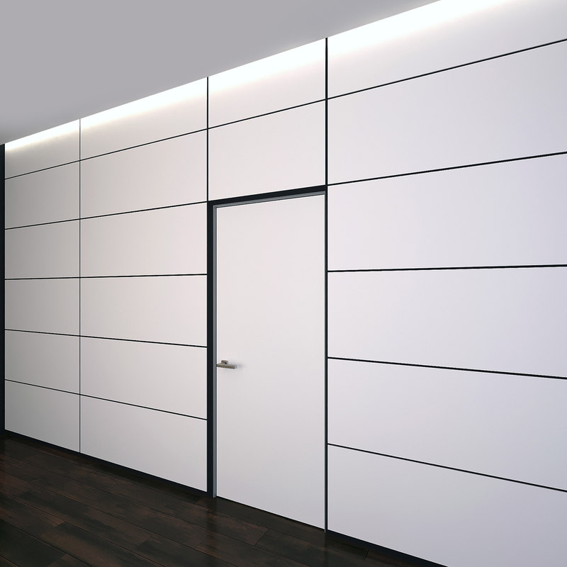 3D wall panel set 15