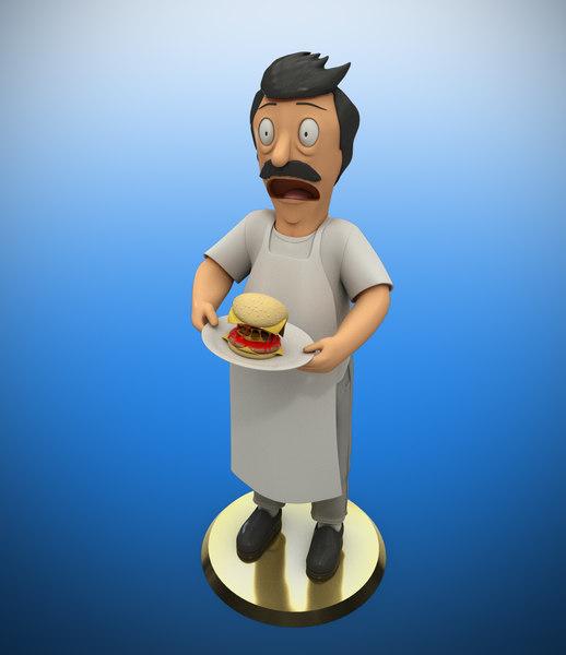 bob belcher printing 3D model