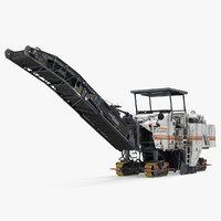 3D wirtgen w2000 asphalt milling model