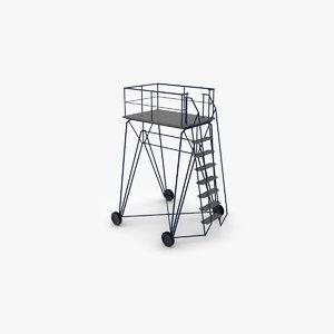 airfield ladder 3D