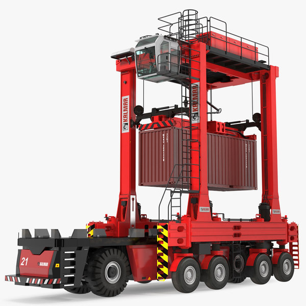 3D model kalmar agv fastcharge straddle