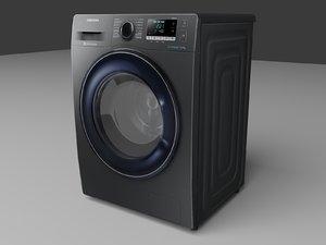 samsung washing machine ww5000j 3D model