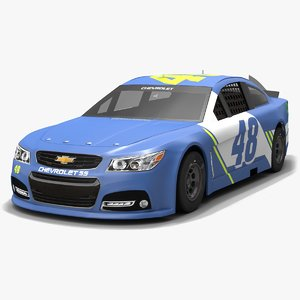3D model hendrick motorsports nascar jimmie