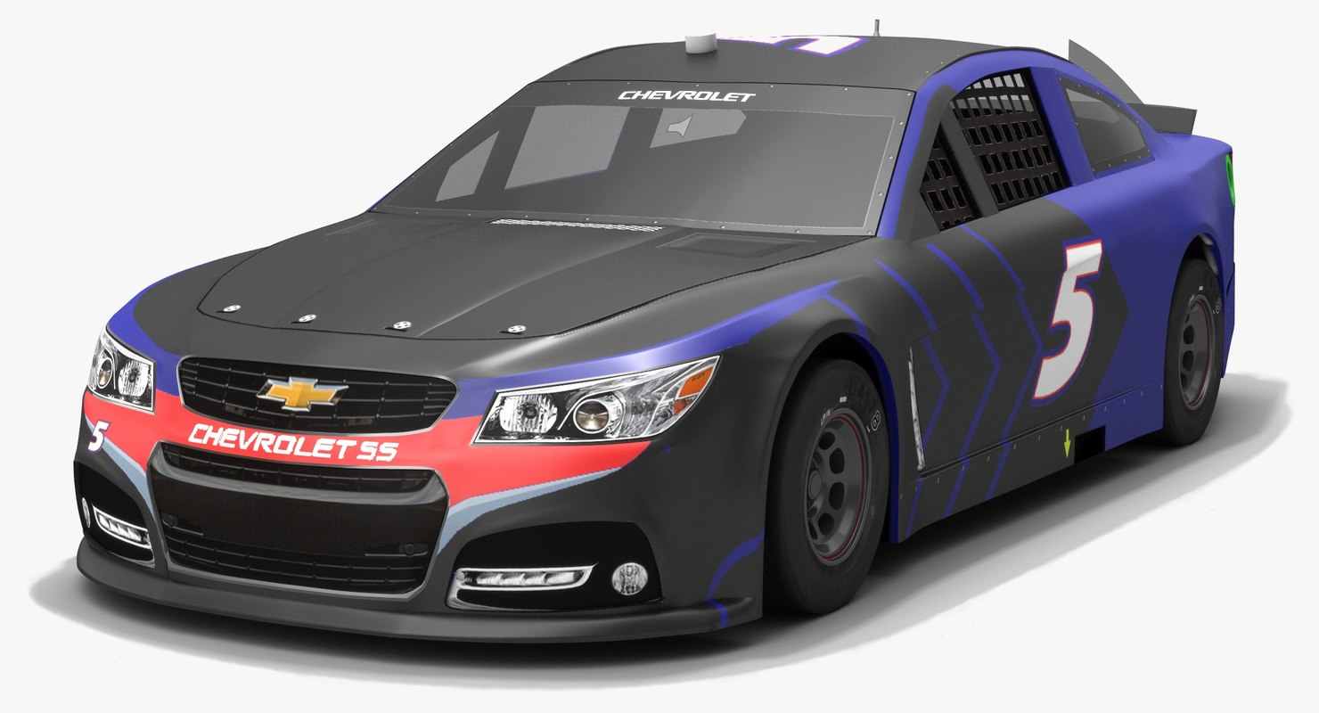 3D model hendrick motorsports nascar kasey