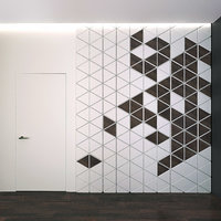 wall panel set 18 3D