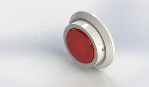 design stick-able push light 3D model