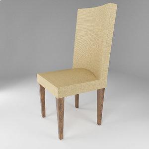 3D chair textile