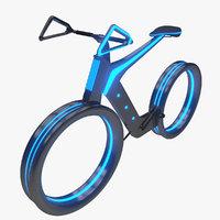 3D future bike model