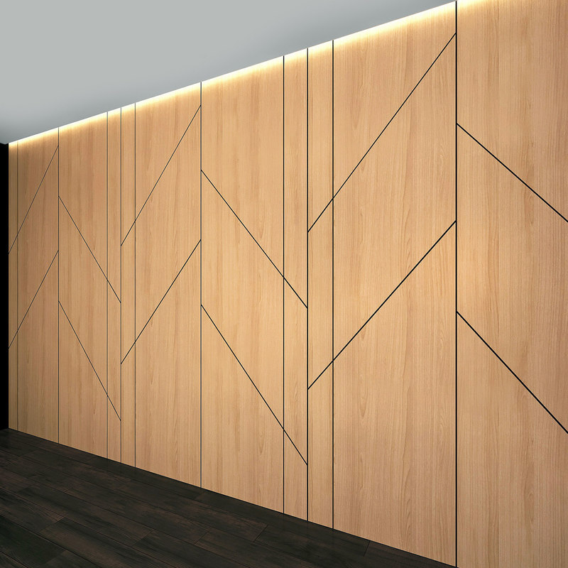 3D wall panel set 24 model