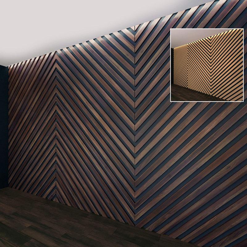 3D wall panel set 21