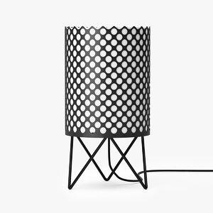 3D gubi abc table lamp