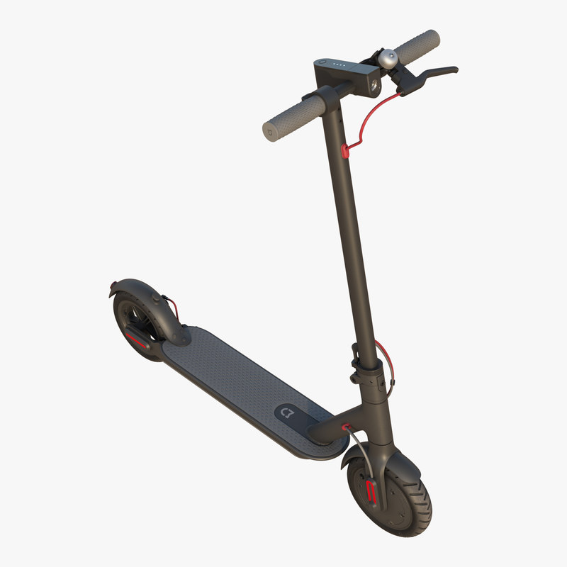 xiaomi mi electric scooter 3d turbosquid 1377367. Black Bedroom Furniture Sets. Home Design Ideas