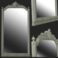 3D decoration antique mirror
