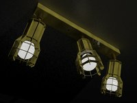 designer modern spotlight model
