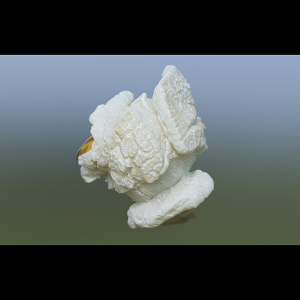3D model popcorn food snack