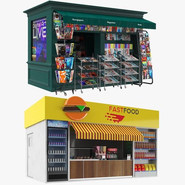 kiosks stand model
