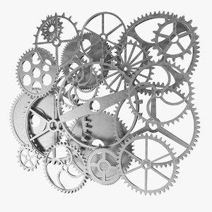 gear set 3D model