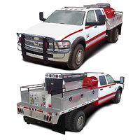 3D dodge 5500 alpine series model