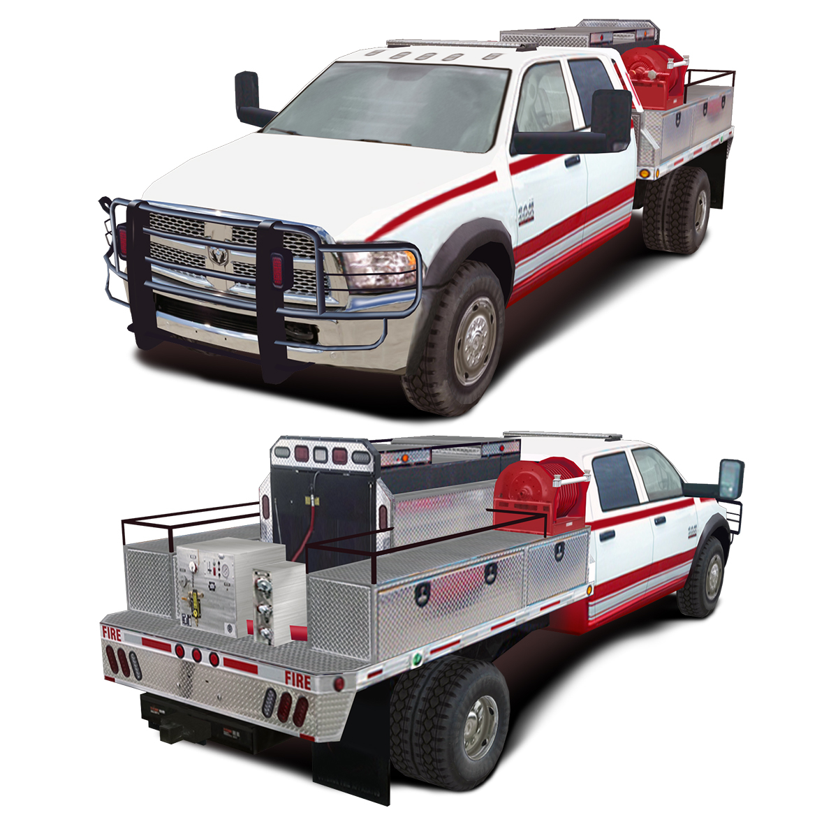Dodge 5500 >> Dodge 5500 Alpine Series 4x4 Brush Truck