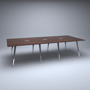 meeting conference table 3D model