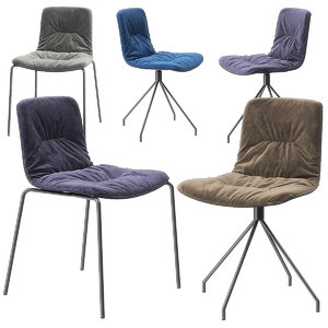 3D klip chairs viccarbe