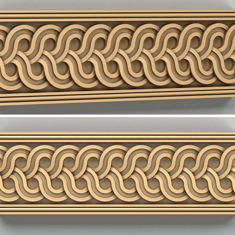 decorative molding model