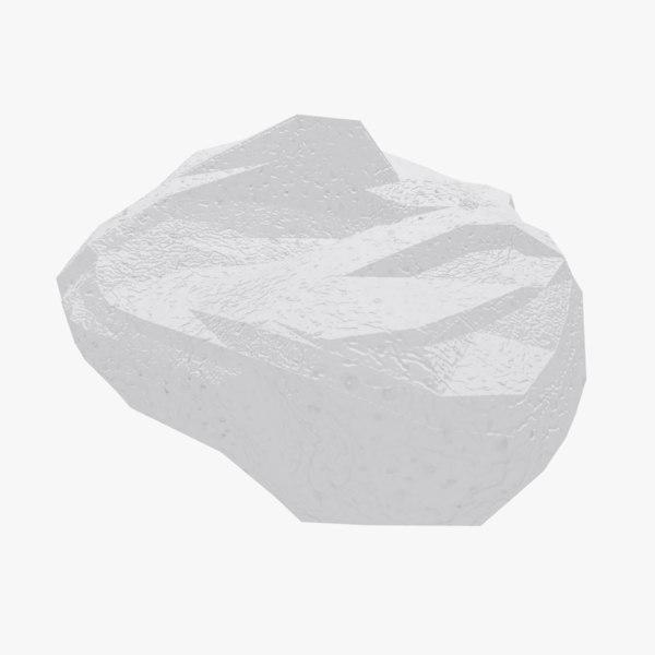 cartoon limestone model