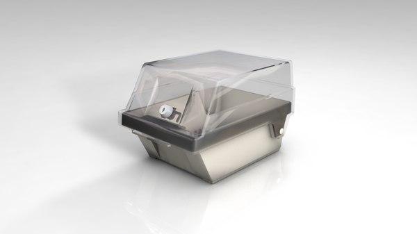 floppy drive disk case 3D model