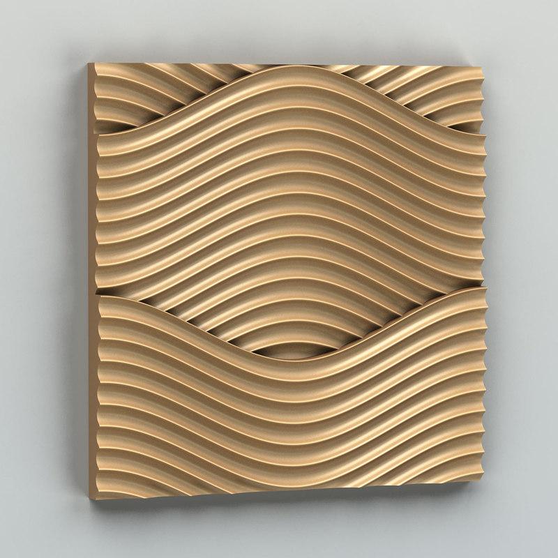 decorative wall panel 3D