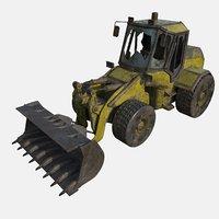 loader abandoned 3D model