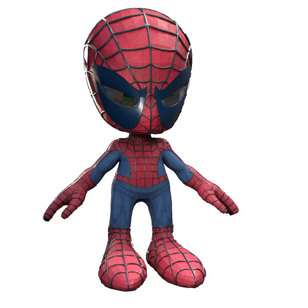 spiderman cartoon spider model