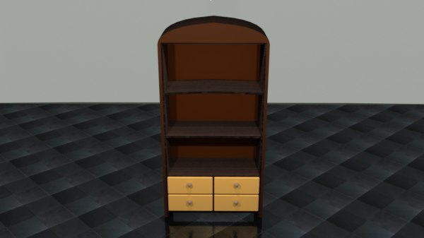 3D library model