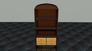 3D library model