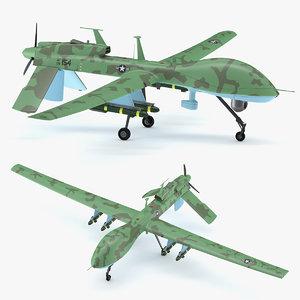 3D s mq-1 model