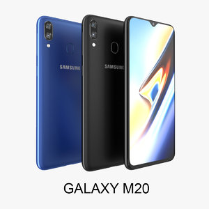 3D samsung galaxy m20