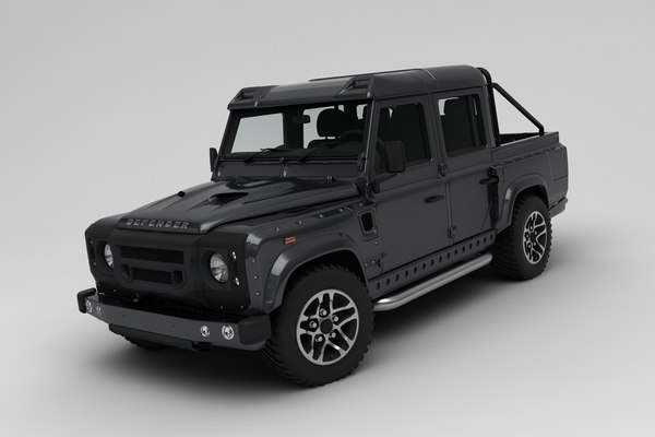 3D land rover defender
