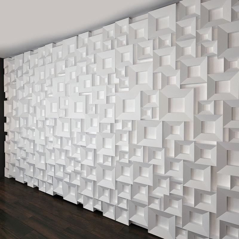 wall panel set 27 model