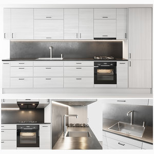 3D kitchen vedum oven