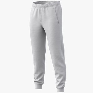 3D realistic sweatpants pbr 01 model